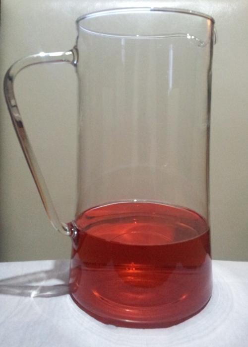 skleniěný džbán na nápoje 2,5l Renata do 300°C