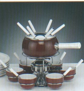 fondue uni luberon rot