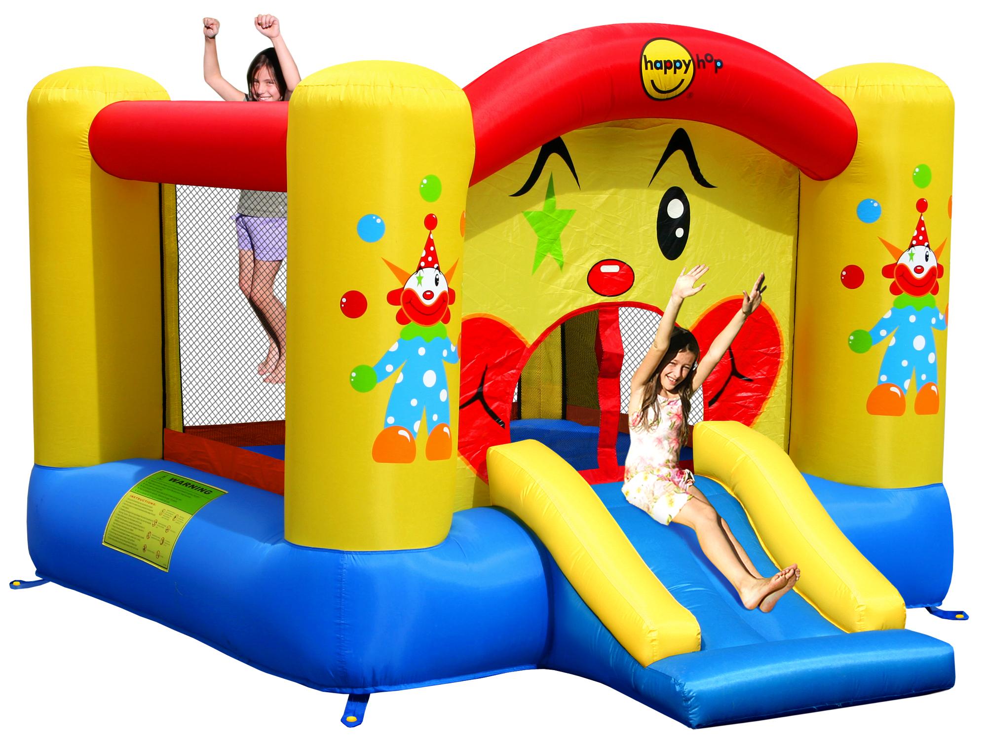 skákací hrad klaun se skluzavkou 6,5 m2