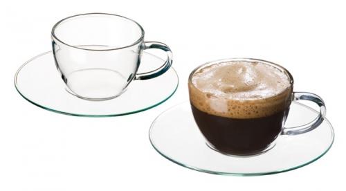 sklenička hrnek na čaj či kávu 300°C bez talířku